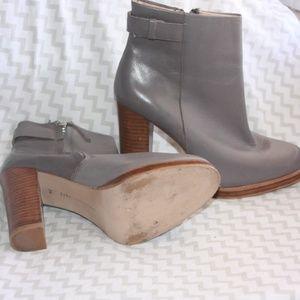 zara Shoes - Zara  Woman Grey Ankle Boot
